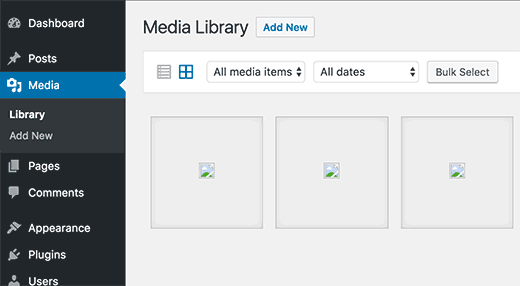 WordPress image upload issues