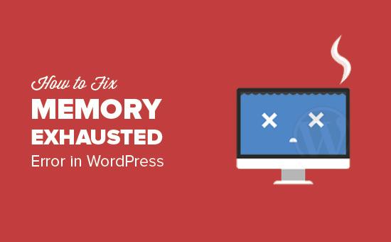 Fix: WordPress Memory Exhausted Error - Tingkatkan Memori PHP