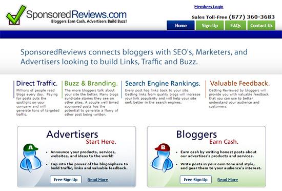 Você pode ganhar dinheiro vendendo online avaliações patrocinadas