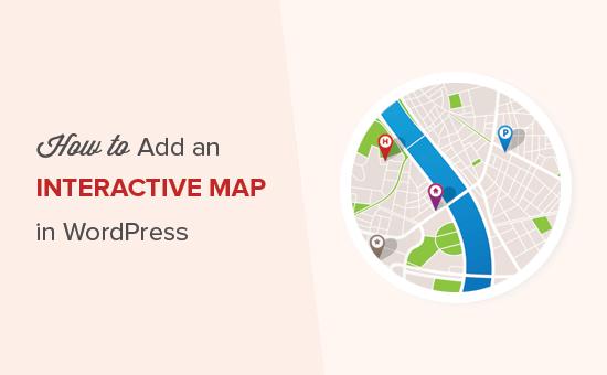 Adding an interactive map in WordPress