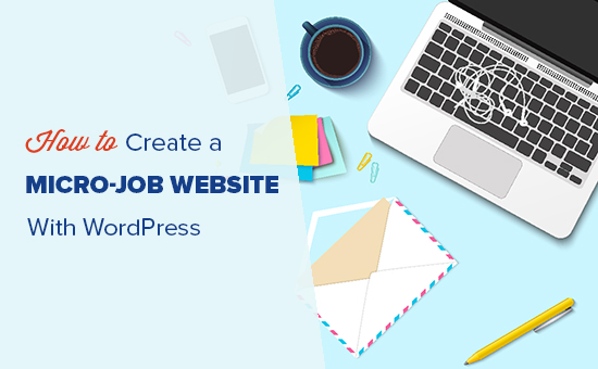 Создание сайта для микро-вакансий как WordPress