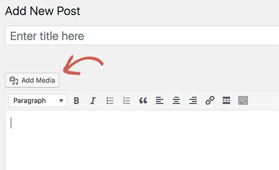 Tombol Tambahkan media berhenti berfungsi di WordPress