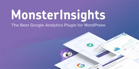 MonsterInsights Best Google Analytics WordPress Plugin