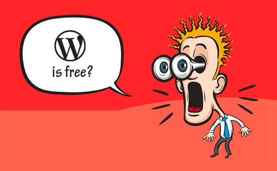 WordPress é grátis