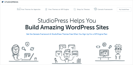 Tema StudioPress WordPress