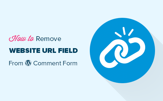 Removing website URL field from WordPress comment form