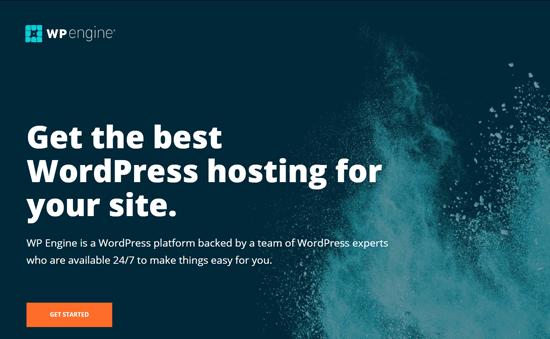 WP Engine - самая успешная управляемая хостинговая компания WordPress