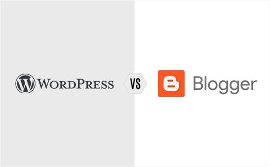 WordPress против Blogger - Сравнение блоговых платформ