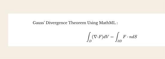 Pratinjau MathML