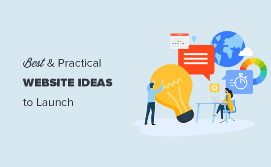 Website ideas that you can launch this year
