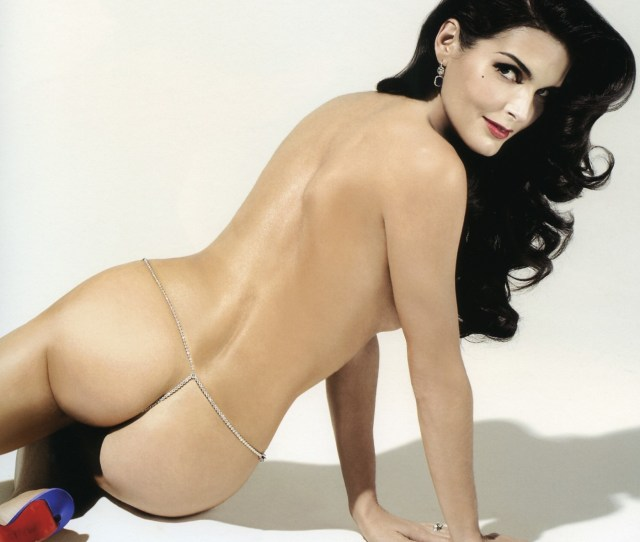 Angie Harmon Hot Ass In Thong Jpg
