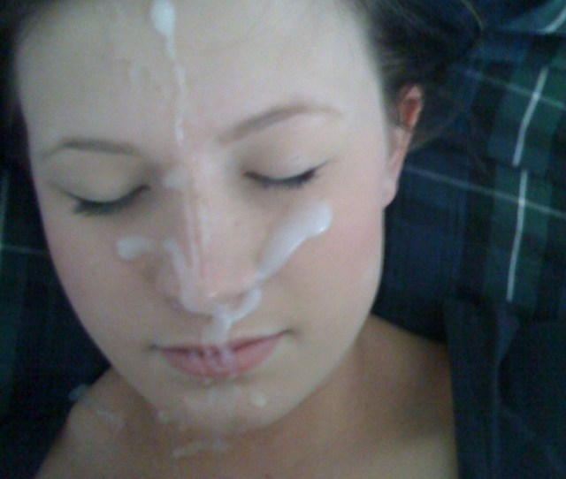 Sisters Friend Jetted My Cum On Her Face