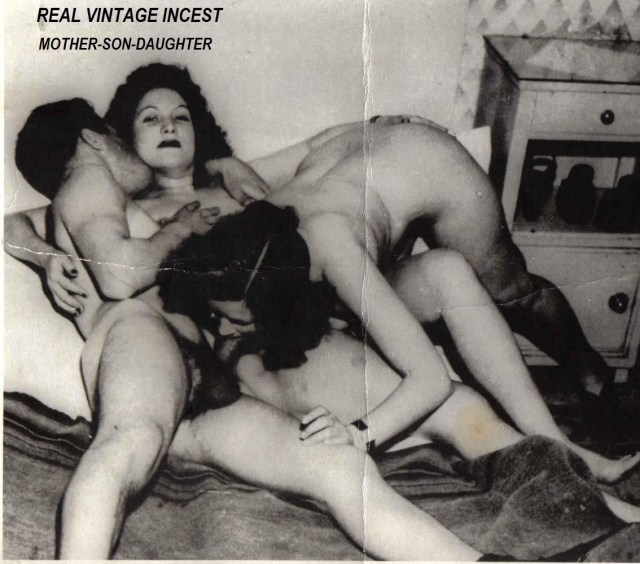 Vintage Reallamateur Incest
