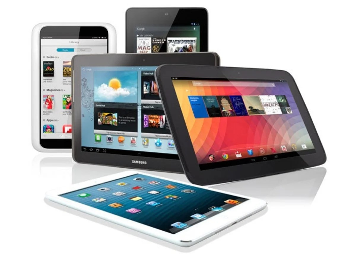 Conjunto de tablets