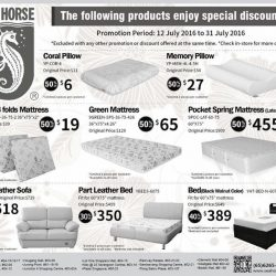 Sea Horse Mattresses And Pillows On