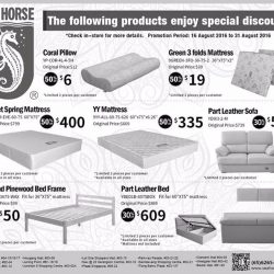 Sea Horse Special S On Selected Products