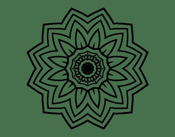 flower mandala of coloringcrew com