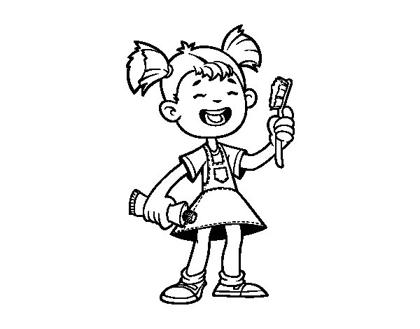toothbrush coloring page this is your index h