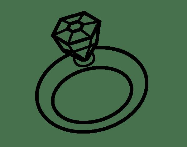 wedding ring page coloringcrew com