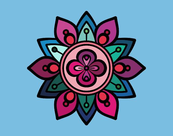 Resultado de imagem para flor de lótus mandala