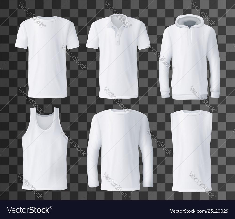 T Shirt Template Polo Hoodie And Tank Top Mockup