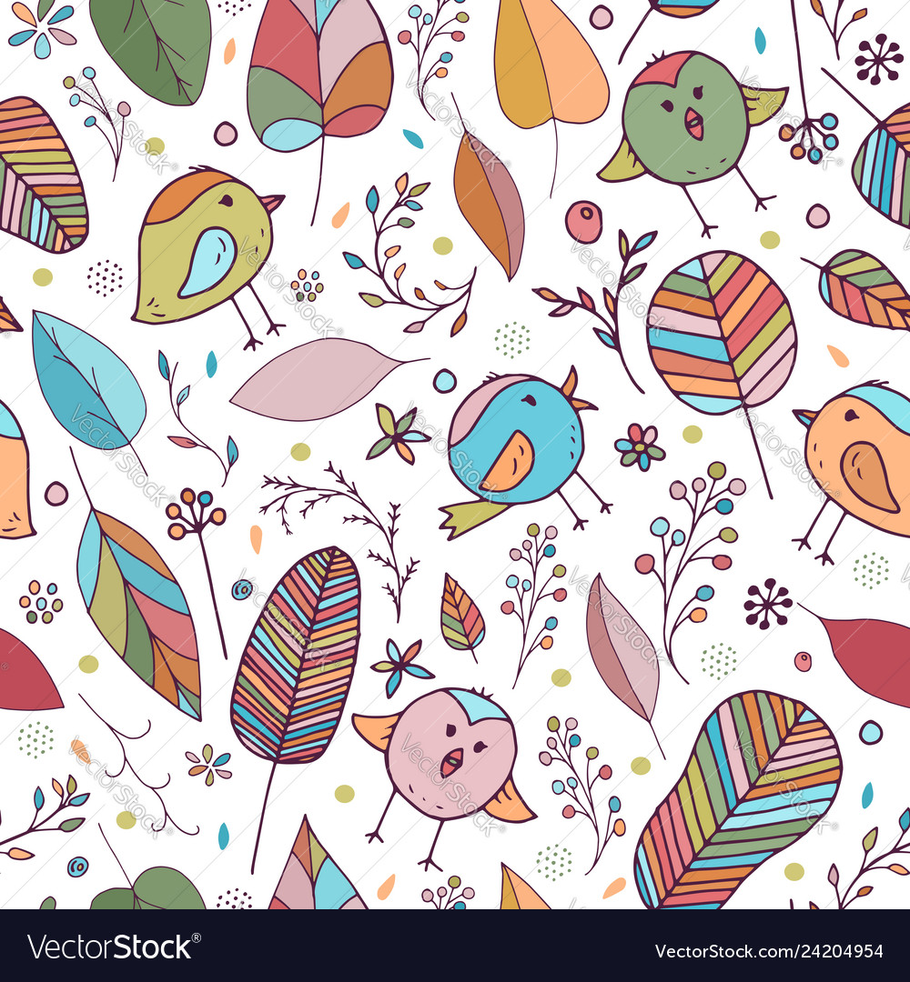 Seamless Background For Kids Room Royalty Free Vector Image