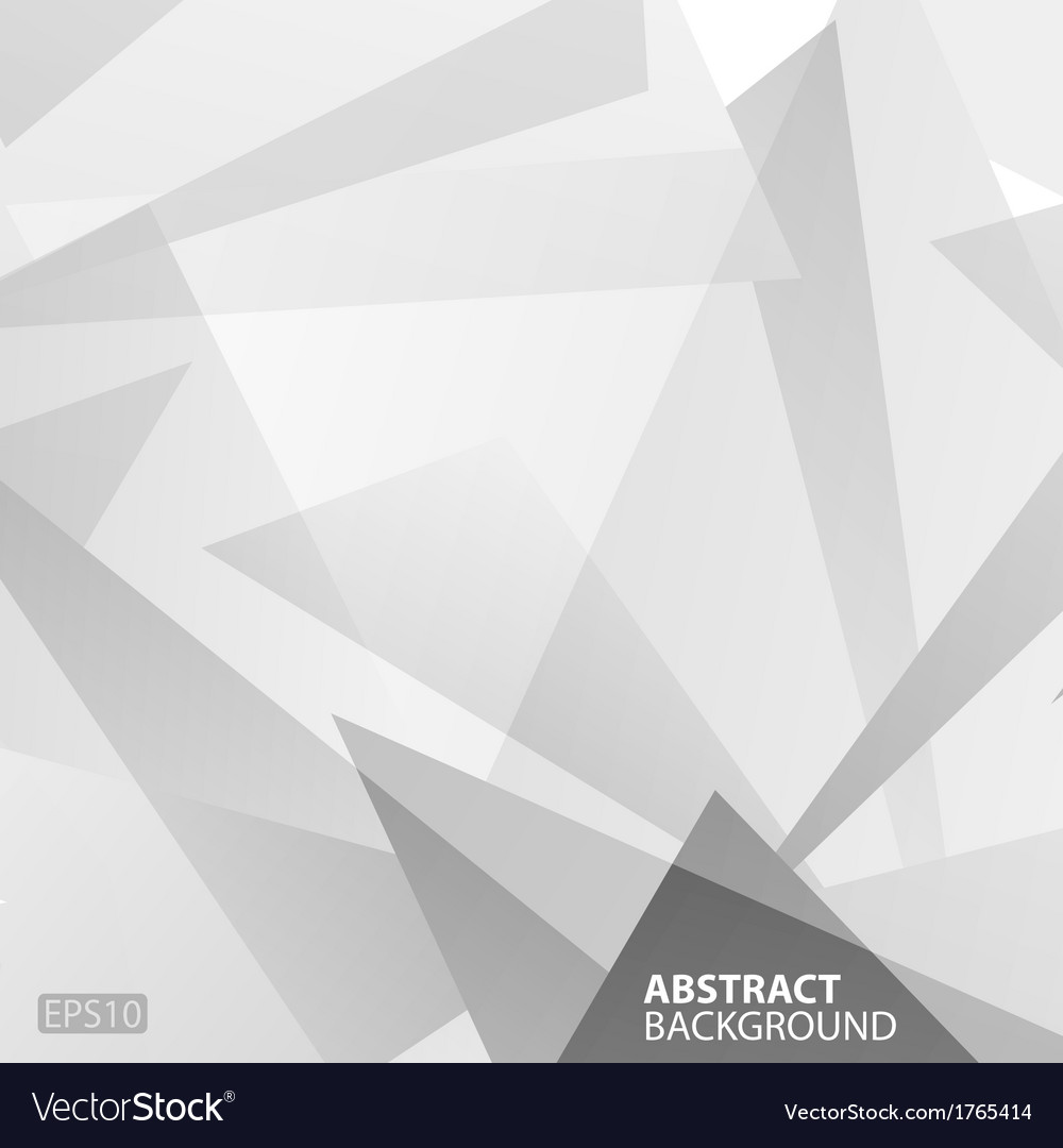 Abstract Grey Geometric Background Royalty Free Vector Image Abstract Grey Geometric Background vector image