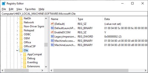 Fehler 10016 - Regedit - Key - Windows Wally