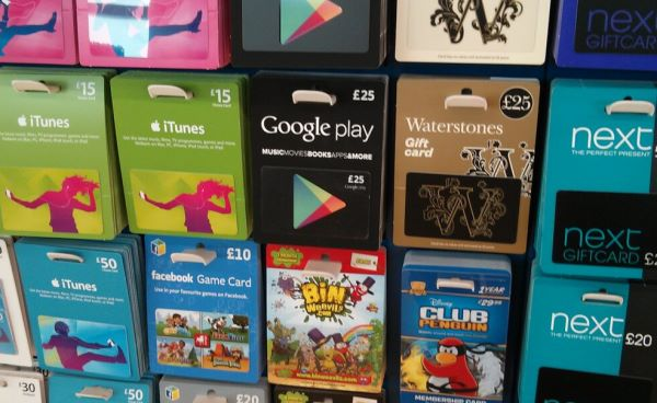 Google Officially Announces Play Store Gift Cards In The UK