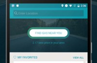 This is a zoomed in image of GasBuddy and also the featured image for the best travel apps for android