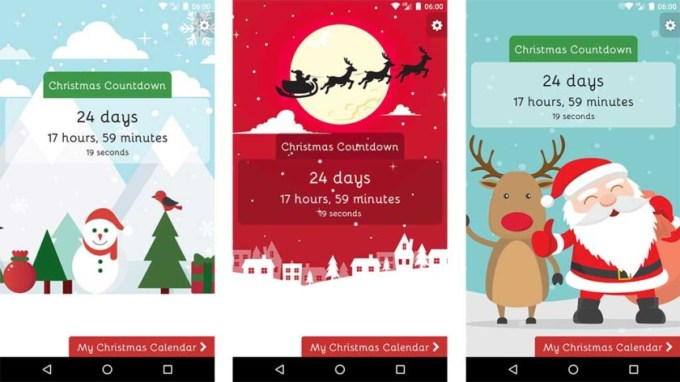 christmas countdown 2017 10 best christmas apps for android authority