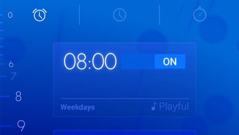 Music Alarm Clock App