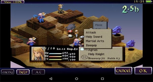 final fantasy tactics best strategy RPGs for android