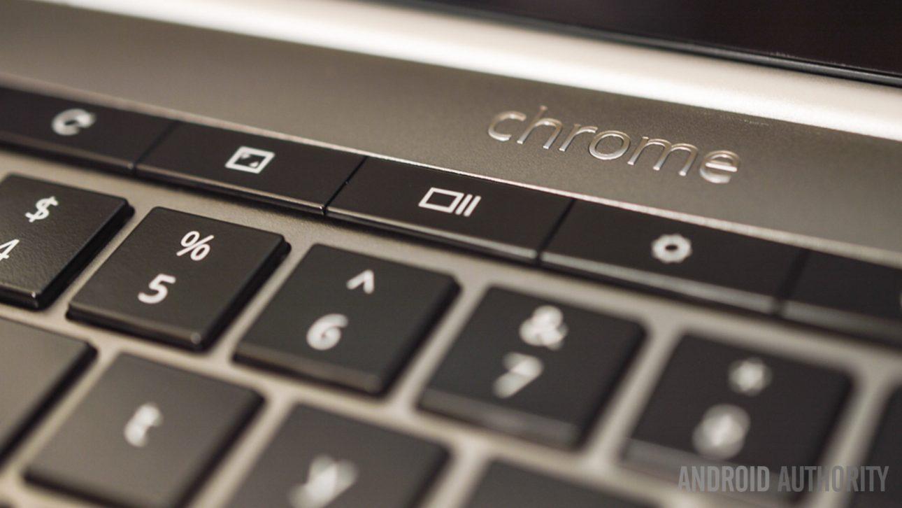 сочетания клавиш Chromebook