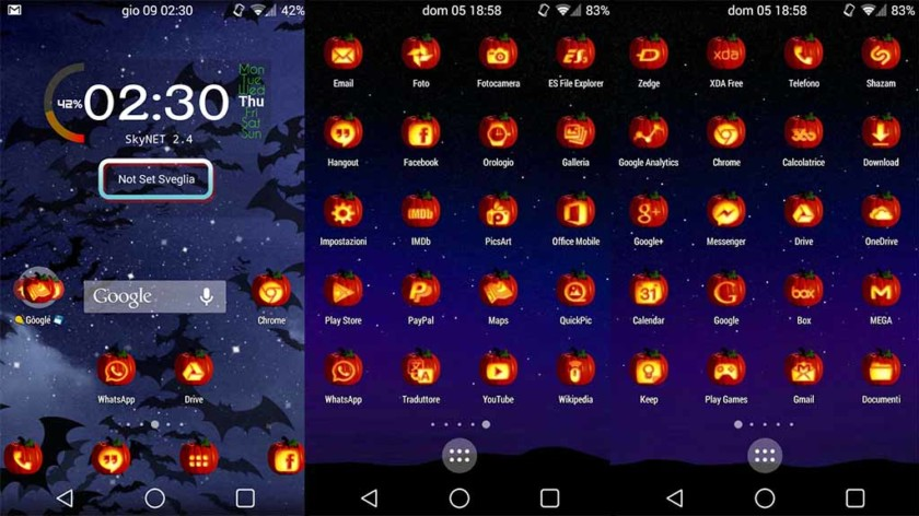 Halloween icon packs