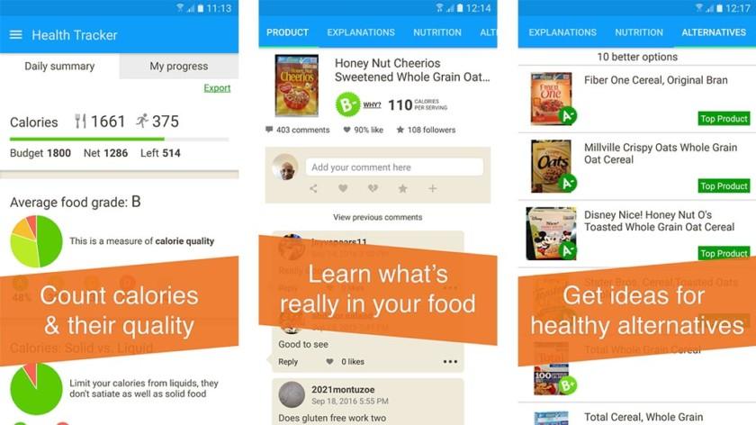 Fooducate screenshot 2017 840x472 - أهم 4 تطبيقات لأنظمة غذائية صحية تساعد على خسارة الوزن
