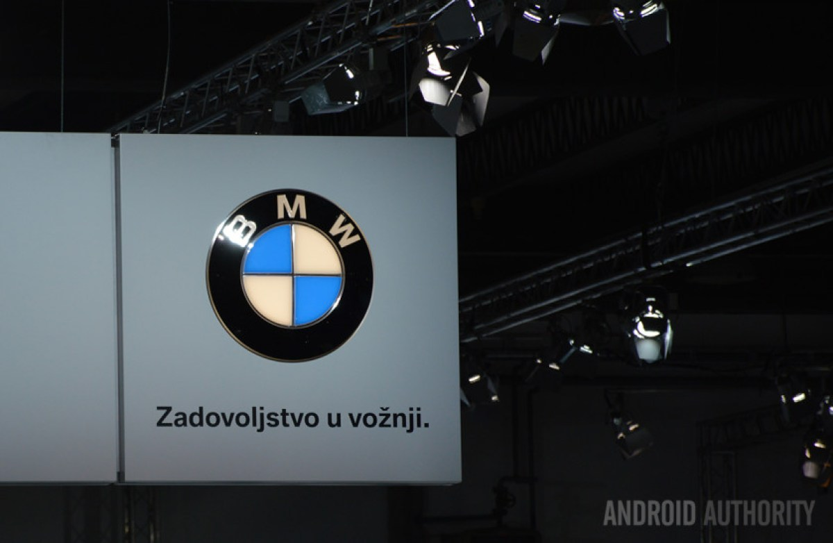 Фото стенда BMW на Загребском автосалоне