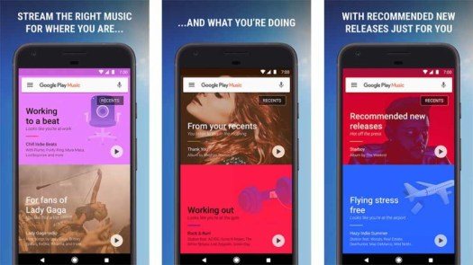 Google Play Music - best Android TV apps