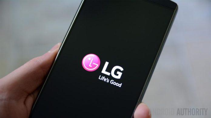LG 5G phone