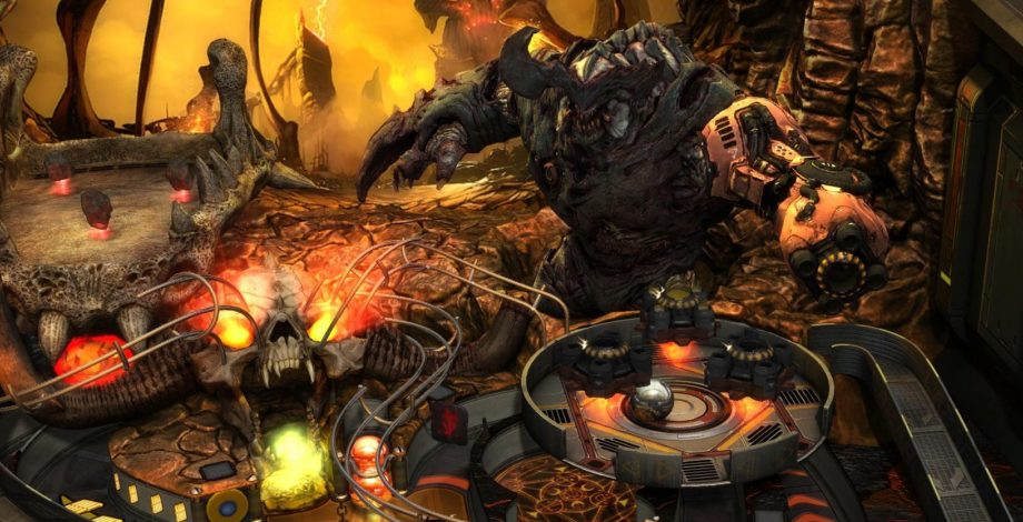 Bethesda Pinball Launches With Doom Fallout And Skyrim Tables