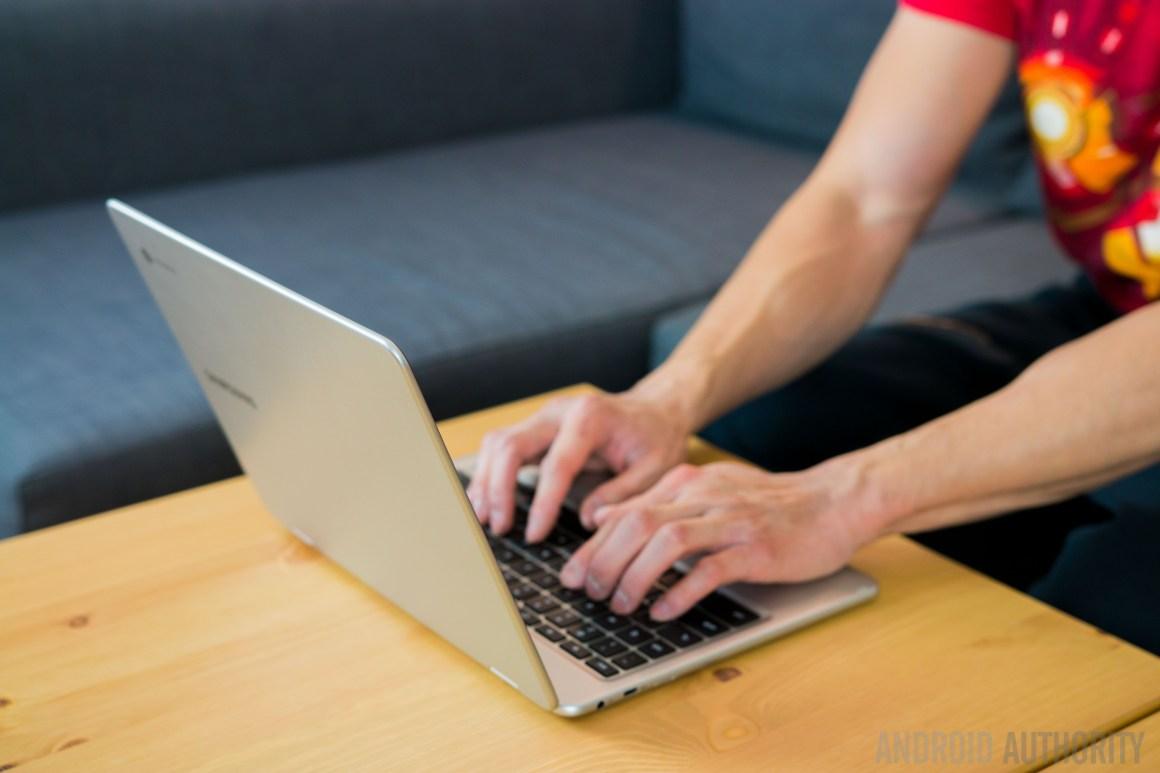 как щелкнуть правой кнопкой мыши на Chromebook