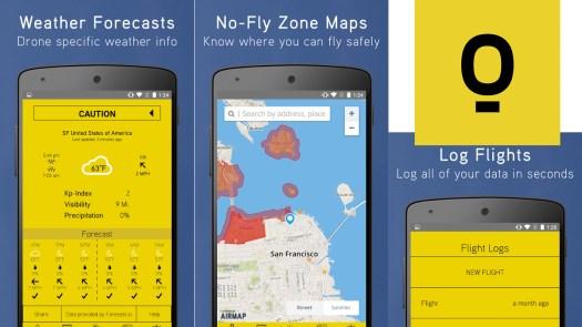 Hover Drone app