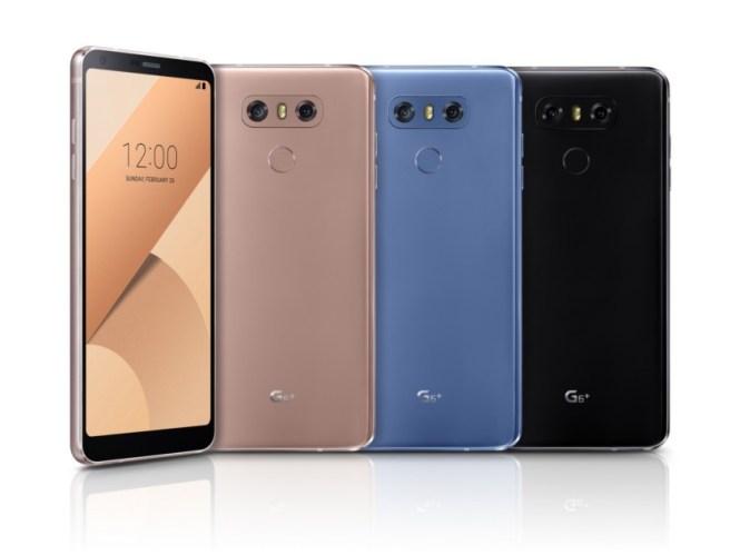 The LG G6 Plus.