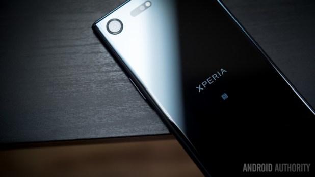 The Sony Xperia XZ Premium.