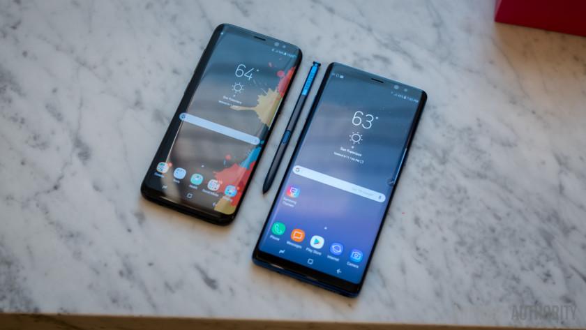 Samsung Galaxy S8 Samsung Galaxy Note 8