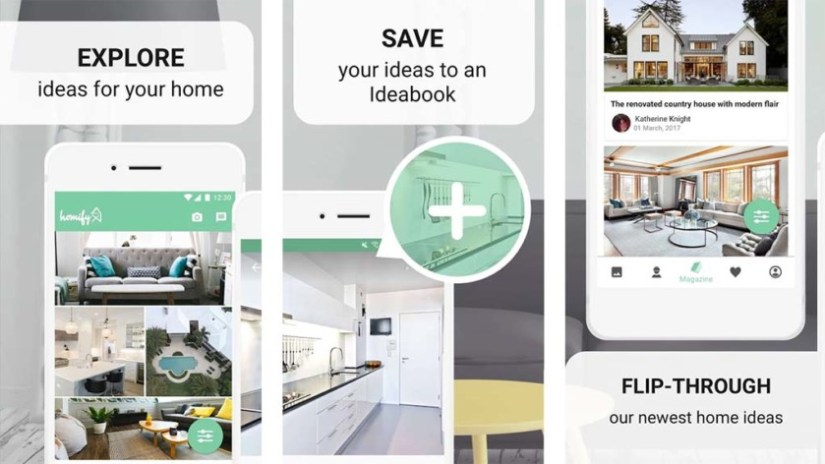 Homify is one of the best kitchen design apps