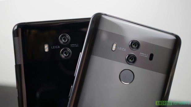 The Mate 10 and Mate 10 Pro.
