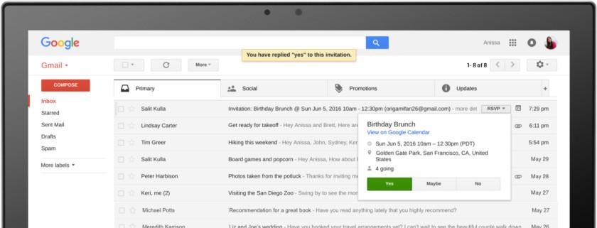 Gmail не работает