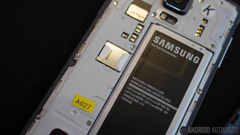 Samsung galaxy phone removable battery