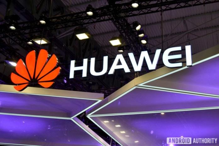 The Huawei logo.